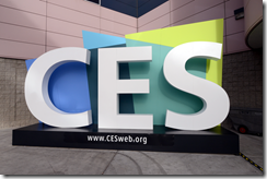 CES logo from on site signage