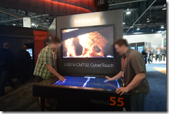 UHD Panel with integrated multi-touch for gaming