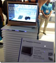 Samsung transparent display / monitor