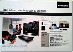 Panasonic description of Miracast