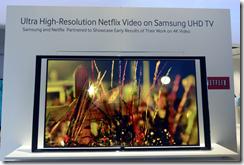 Samsung UHD streaming Netflix content