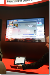 DISH network showing transcoding of recorded tv for portable device