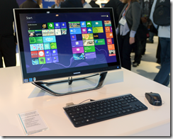Samsung All-In-One running Windows 8
