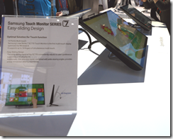 Samsung touch monitor (also used on PC)
