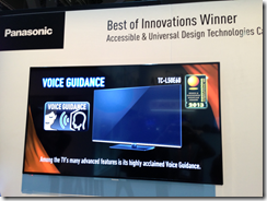 Panasonic award for universal design