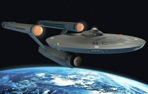 Star Trek: the original series. A five year mission (destination) adapting to a journey (ongoing).