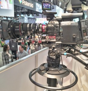 Canon broadcast camera