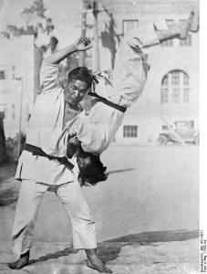 Japan, Jiu-Jitsu-Kämpfer